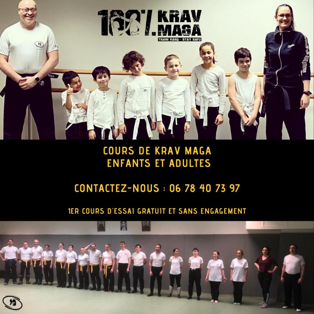 Cours Enfants et Adultes 100% Krav Maga