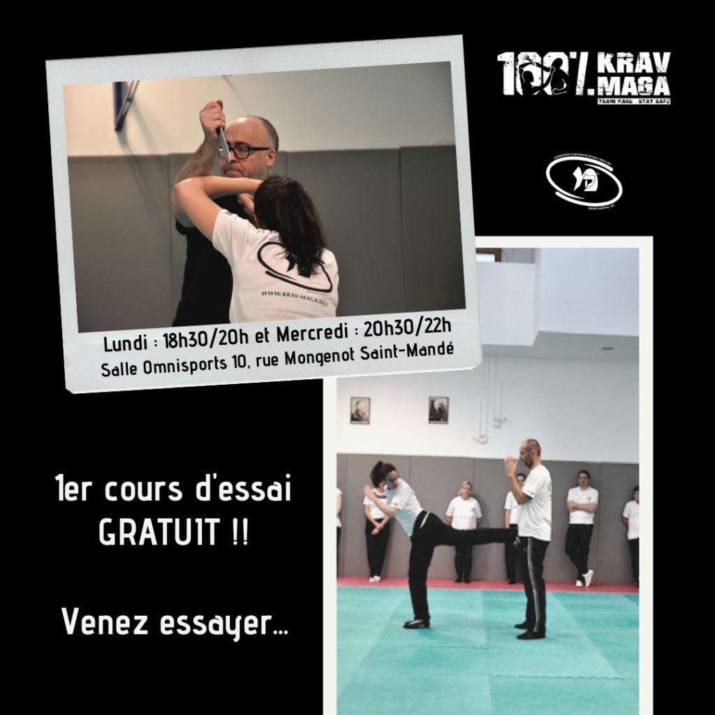 rentrée 2019 1er cours d'essai gratuit, venez essayer !!!
